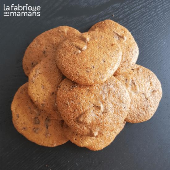 Cookies compote, pépites de chocolat